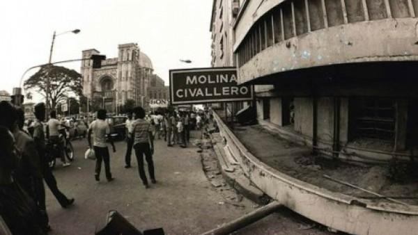 Hace 34 años la tragedia llegó a San Salvador