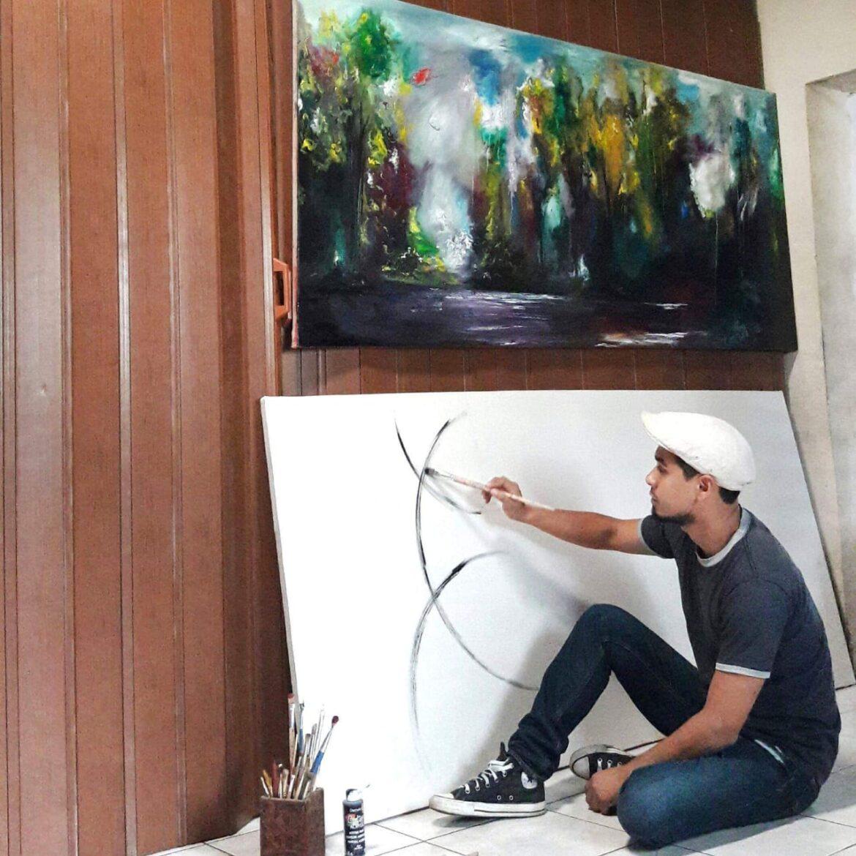 De los dibujos a las artes plásticas: Jairo Dimas, un talento emergente