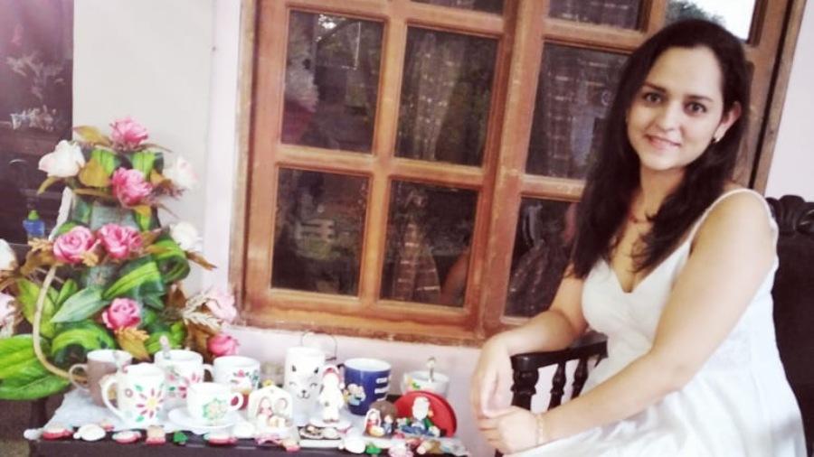 Maziel Cruz, una artista de la porcelana fría