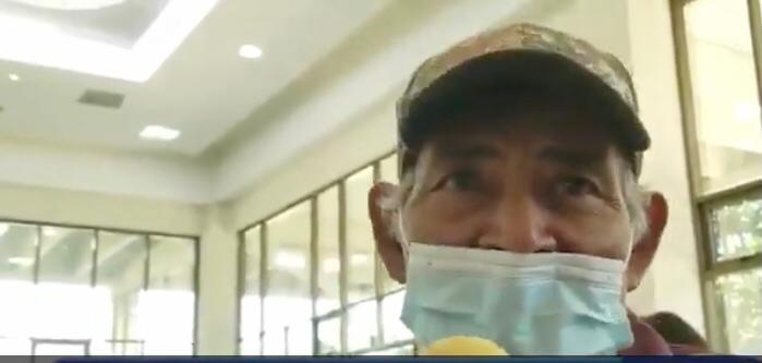"""Marcelino: """"Estoy feliz porque volveré a la milpa y a pescar otra vez"""""""
