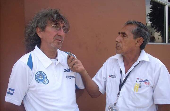 Fredy Manzano de militar a locutor y de locutor a narrador deportivo.