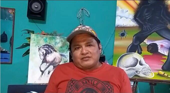 """Michaelle Angello"", el pintor de San Marcos."