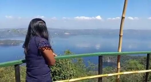 La ruta panorámica, una mirada al Lago de Ilopango