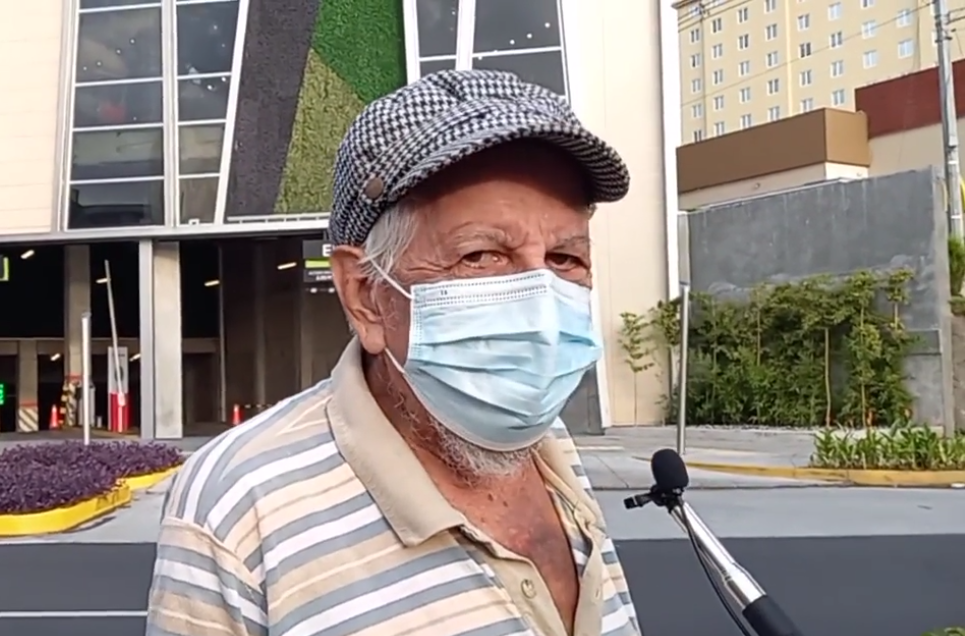 """Jesús Villegas: """"vengo votando desde antes de la época del presidente Osorio"""""""