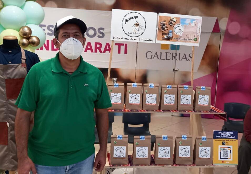 """Café """"Puzunga"""", la apuesta de Omar para lograr el éxito empresarial"""
