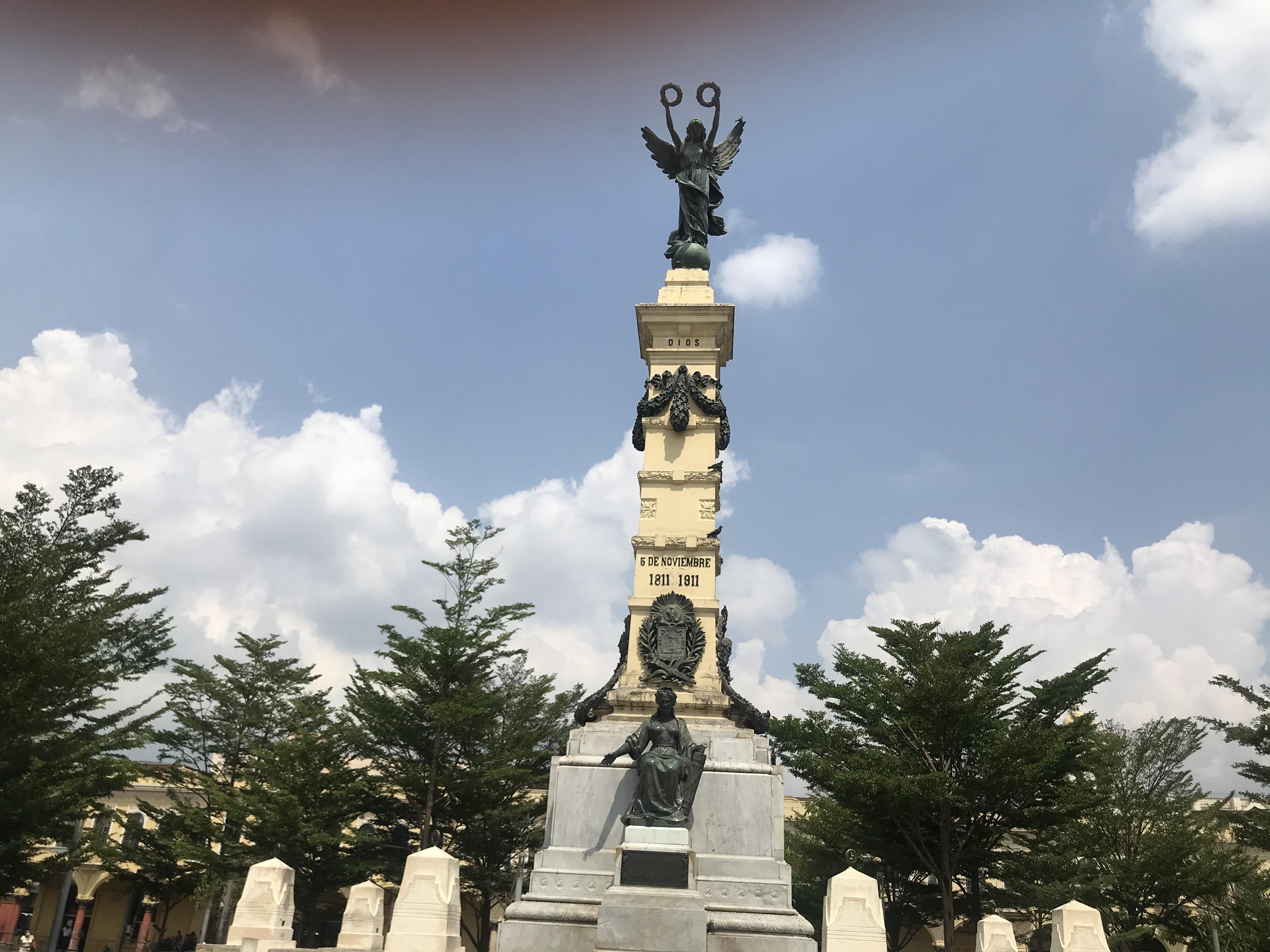 Plaza Libertad, el corazón de la urbe capitalina