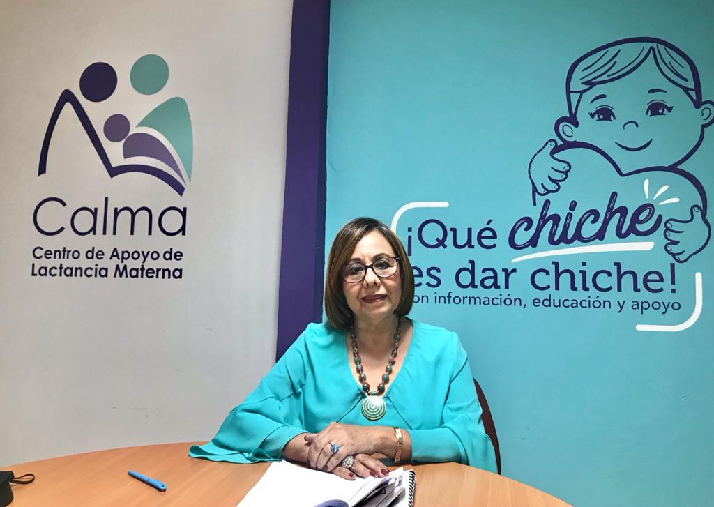 """Ana Josefa Blanco Noyola, Directora Ejecutiva de CALMA: """"El país sigue teniendo déficit en la lactancia materna"""""""