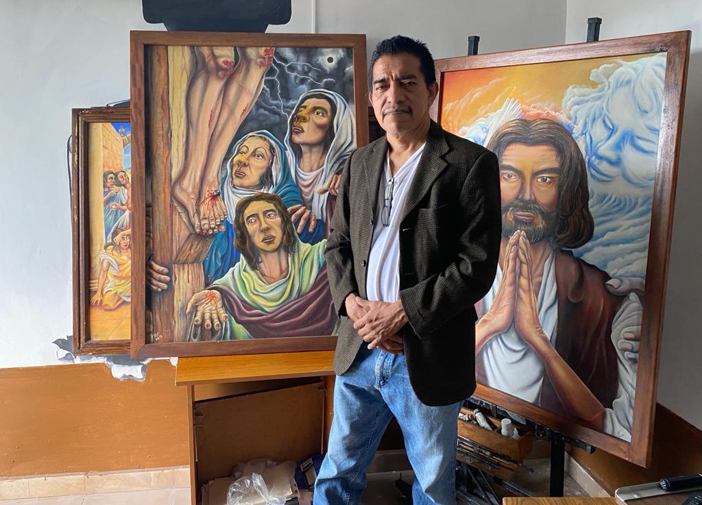 Marco Ventura, el artista que pinta la vida con pasajes bíblicos