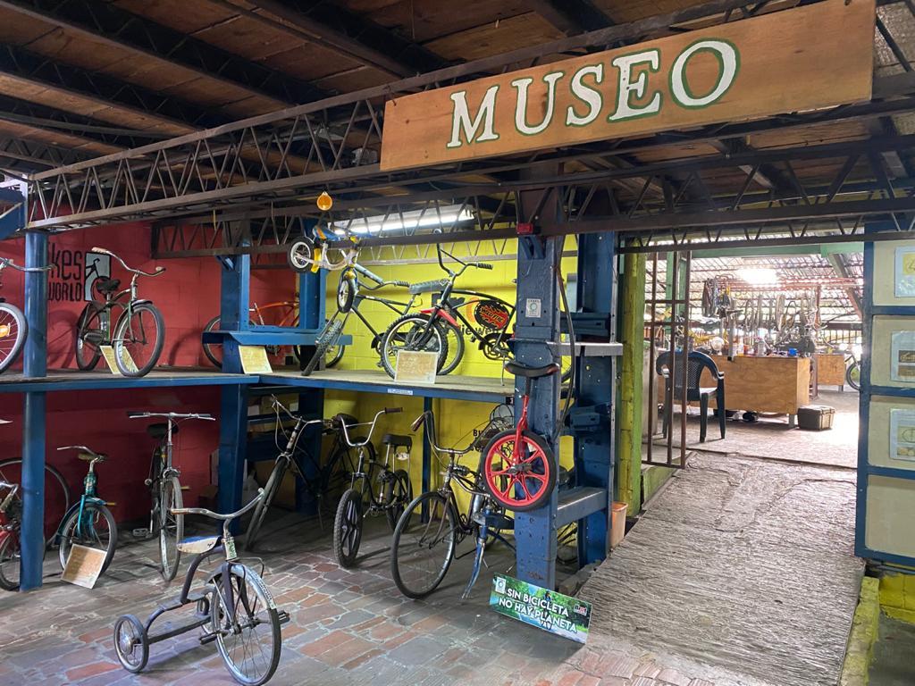 El Museo de la Bicicleta, una mirada al pasado de este medio económico y ecológico